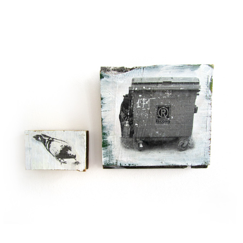 Container/Taube